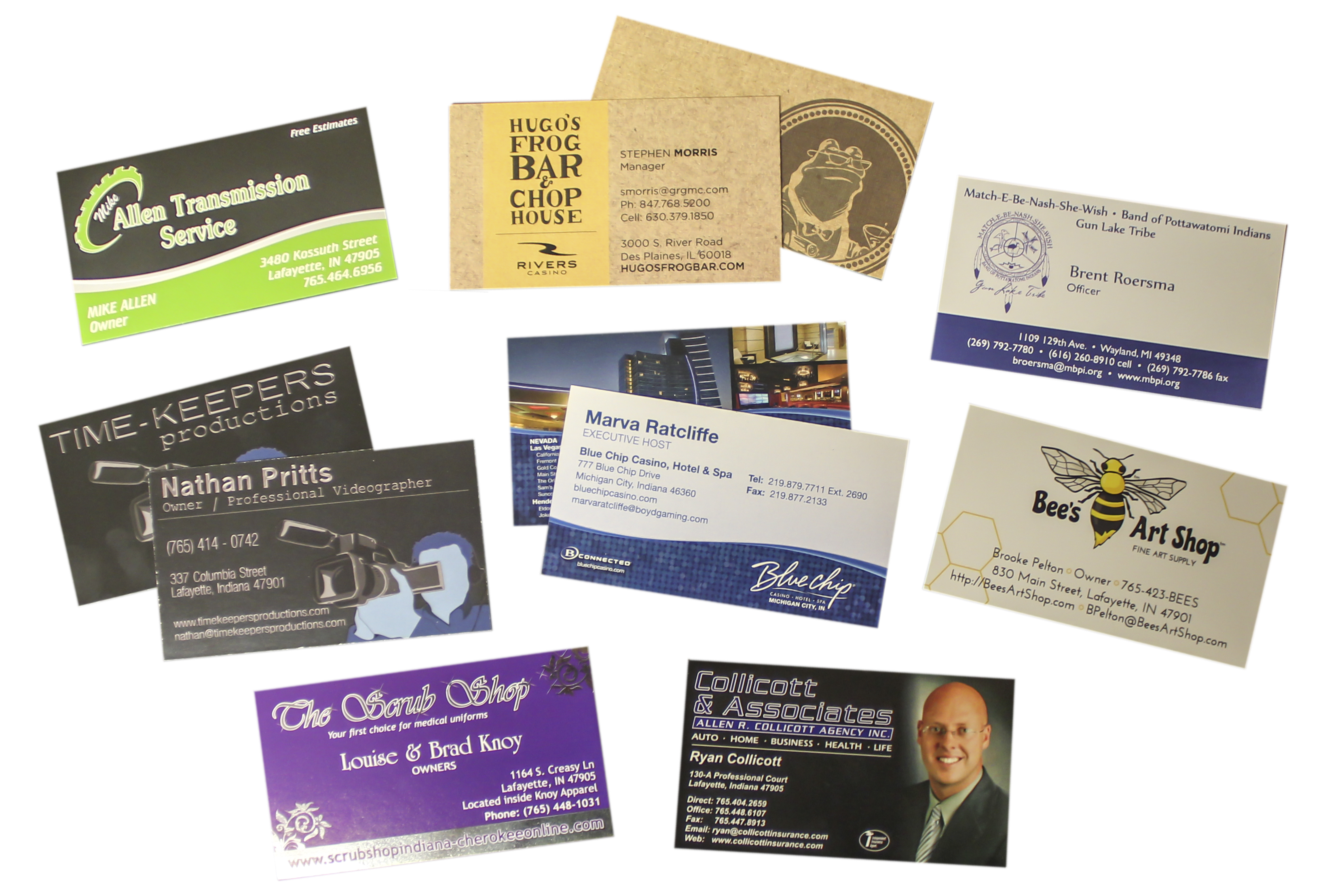 Bilingual Business Cards Business Card Printing Services - mandegar.info